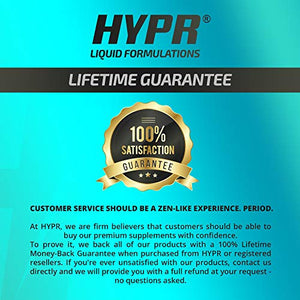 HYPR Ionic Liquid Zinc Drops. Best Advanced Nano Zinc Liquid Vitamin Supplement for Immune Support + Energy. High Bioavailability Triple Distilled and Nanotized for Men and Women