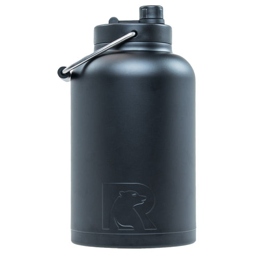 RTIC One Gallon Vacuum Insulated Jug, Black
