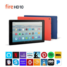 "Load image into Gallery viewer, Fire HD 10 Tablet with Alexa Hands-Free, 10.1"" 1080p Full HD Display, 32 GB, Marine Blue (Previous Generation - 7th)"
