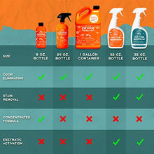 Load image into Gallery viewer, ANGRY ORANGE 24 oz Ready-to-Use Citrus Pet Odor Eliminator Pet Spray - Urine Remover and Carpet Deodorizer for Dogs and Cats