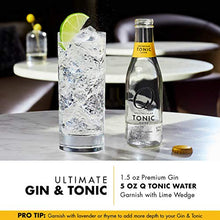 Load image into Gallery viewer, Q Mixers Tonic Water, Premium Cocktail Mixer, 7.5 oz (12 Cans)