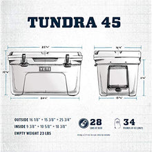 Load image into Gallery viewer, YETI Tundra 45 Cooler, Navy