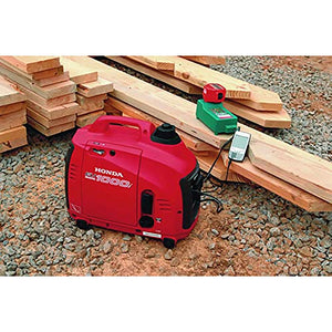 Honda EU1000i Inverter Generator, Super Quiet, Eco-Throttle, 1000 Watts/8.3 Amps @ 120v