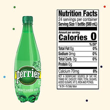 Load image into Gallery viewer, Perrier Carbonated Mineral Water, 16.9 Fl Oz (24 Pack) Plastic Bottles