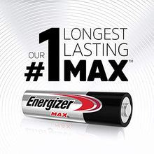 Load image into Gallery viewer, Energizer AA Batteries (48 Count), Double A Max Alkaline Battery