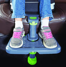 Load image into Gallery viewer, Kneeguard Kids Car Seat Foot Rest for Children and Babies. Footrest is Compatible with Toddler Booster Seats for Easy, Safe Travel.