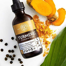 Load image into Gallery viewer, Global Healing Center Organic Turmeric with Black Pepper, 2 Fl oz