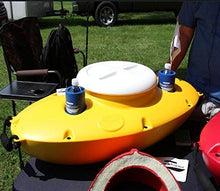 Load image into Gallery viewer, CreekKooler - Outdoor Floating Cooler - 30 Quart - Omigod, Dibs!™