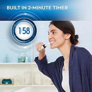 Oral-B 1000 CrossAction Electric Toothbrush, Black, Powered by Braun