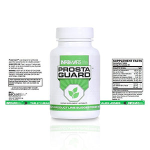 Infowars Life - ProstaGuard Prostate Health Supplement (60 Tablets) – Saw Palmetto, Antioxidant & Plant Based Nutrients