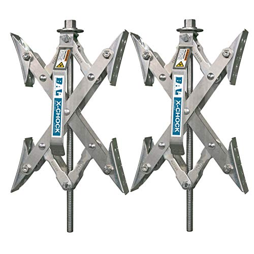 X-Chock Wheel Stabilizer - Pair - One Handle - 28012