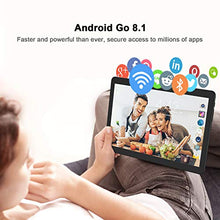 Load image into Gallery viewer, Android Tablet 10 Inch, Phablet Unlocked 3G [Android Go 8.1] [GMS Certified] 10 Inch Tablet with Dual Sim Card Slots and Cameras, 1280 x 800 IPS, 16GB, Bluetooth, WiFi, GPS, OTG (Black)