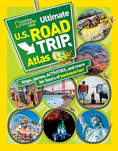National Geographic Kids Ultimate U.S. Road Trip Atlas: Maps, Games, Activities, and More for Hours of Backseat Fun - Omigod, Dibs!™
