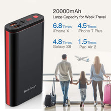 Load image into Gallery viewer, Power Bank Portable Charger External Fast Charge Battery Pack 20000mAh