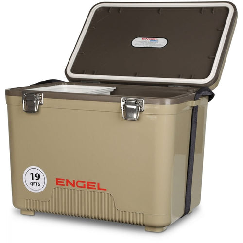 Engel Cooler/Dry Box 19 Qt - Tan - Omigod, Dibs!™