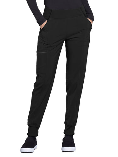CHEROKEE Infinity CK110A Mid Rise Tapered Leg Jogger Pant