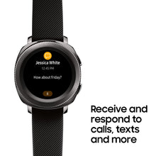 Load image into Gallery viewer, Samsung Gear Sport Smartwatch (Bluetooth), Black, SM-R600NZKAXAR – US Version with Warranty