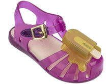 Load image into Gallery viewer, mini melissa Aranha VIII BB Girls Popsicle Sandal Coral Yellow