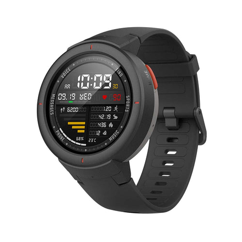 Amazfit Verge Smartwatch with Alexa Built-in, GPS Plus GLONASS All-Day Heart Rate and Activity Tracking, 5-Day Battery Life, Ability to Make and Answer Phone Calls, IP68 Waterproof, A1811 Gray - Omigod, Dibs!™