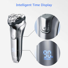 Load image into Gallery viewer, Electric Razor Rotary Shaver for Men 3D Rechargeable Cordless Shavers Close Cut Wet & Dry Razor
