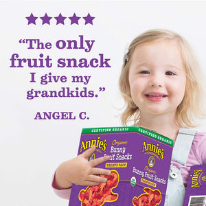 Annie's Organic Bunny Fruit Snacks, Variety Pack, 24 Pouches, 0.8 oz Each - Packaging May Vary - Omigod, Dibs!™