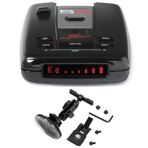 Escort Passport S55 Radar/Laser Detector with Accessories Combo Bundle (Blue) - Omigod, Dibs!™