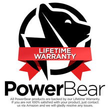 Load image into Gallery viewer, PowerBear AM FM Radio (Portable Radio) Handheld Battery Operated Radio | Long Range and Long Lasting Radio - Black - Omigod, Dibs!™