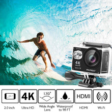 Load image into Gallery viewer, AKASO EK7000 4K WiFi Sports Action Camera Ultra HD Waterproof DV Camcorder 12MP 170 Degree Wide Angle