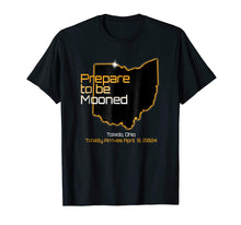 Load image into Gallery viewer, Total Solar Eclipse 2024 Toledo Ohio Solar Eclipse T-Shirt