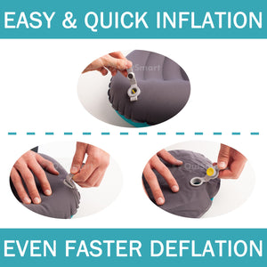 OutSmart Inflatable Camping Pillow