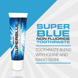 Infowars Life - Superblue Fluoride-Free Toothpaste (4 oz, Peppermint) - Omigod, Dibs!™