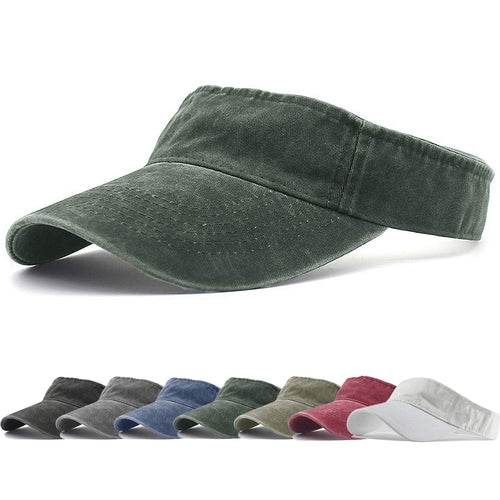Sports Sun Visor Hats Twill Cotton Ball Caps
