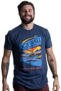 Roswell, NM, USA - Out of This World Thrills! T-Shirt