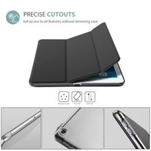 Load image into Gallery viewer, ProCase iPad 9.7 Case 2018 iPad 6th Generation Case / 2017 iPad 5th Generation Case - Ultra Slim Lightweight Stand Case with Translucent Frosted Back Smart Cover for Apple iPad 9.7 Inch –Black - Omigod, Dibs!™