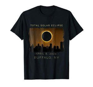 2024 Total Solar Eclipse in Buffalo, New York Shirt - Omigod, Dibs!™