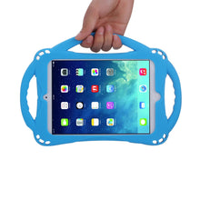 Load image into Gallery viewer, TopEsct TopEs iPad Mini Case Kids Shockproof Handle Stand Cover&(Tempered Glass Screen Protector) for iPad Mini, Mini 2, Mini 3 and iPad Mini Retina Models (Blue)
