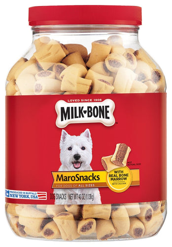 Milk-Bone Marosnacks Dog Treats For All Sizes Dogs, 40-Ounce - Omigod, Dibs!™