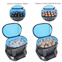 Load image into Gallery viewer, TOURIT Soft Cooler 20 Cans Leak-Proof Soft Pack Cooler Bag Waterproof Insulated Soft Sided Coolers Bag with Cooler for Hiking, Camping, Sports, Picnics, Sea Fishing, Road Beach Trip