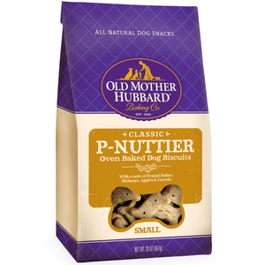 Old Mother Hubbard Classic Crunchy Natural Dog Treats, P-Nuttier Small Biscuits, 20-Ounce Bag - Omigod, Dibs!™