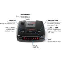 Load image into Gallery viewer, Escort Passport S55 Radar/Laser Detector with Accessories Combo Bundle (Blue) - Omigod, Dibs!™