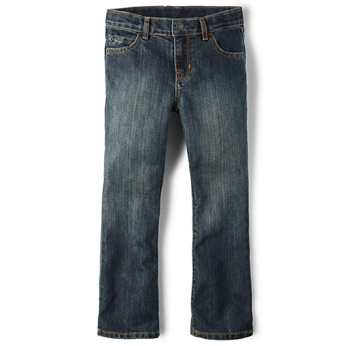 The Children's Place Little Boys' Bootcut Jeans