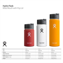 Load image into Gallery viewer, Hydro Flask 16 oz Travel Coffee Flask | Stainless Steel & Vacuum Insulated | Wide Mouth with Hydro Flip Cap | Olive - Omigod, Dibs!™