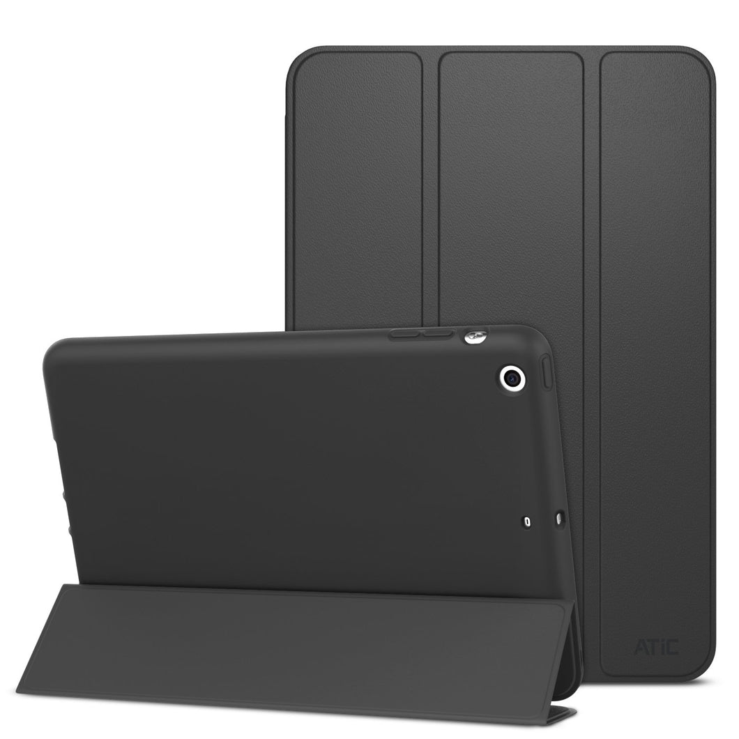 ATiC Case for iPad Mini 3 / 2 / 1, Slim Stand Case with Soft TPU Back Cover for Apple iPad Mini 1 (2012) / iPad Mini 2 (2013) / iPad Mini 3 (2014), BLACK (Will not fit iPad Mini 4) - Omigod, Dibs!™
