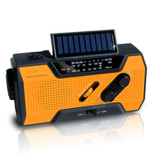 Load image into Gallery viewer, NOAA Weather Radio | Solar Emergency Survival Device with AM/FM Transmission | Windup Power for Emergencies, Tornadoes, Hurricanes | Micro USB Charger and Power Bank for Cell Phones and Electron - Omigod, Dibs!™