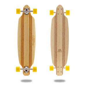 Laguna Longboard Collection 36 inch Bamboo Longboard w/ Hard Maple Core