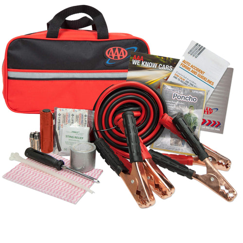 Lifeline AAA Premium Road, 42 Piece Car Emergency Kit