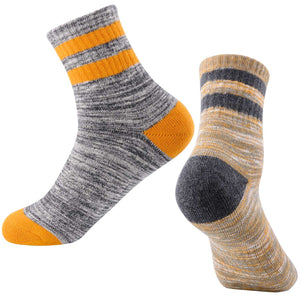 FEIDEER 2-Pack Women's Outdoor Recreation Wicking Cushion Crew Socks