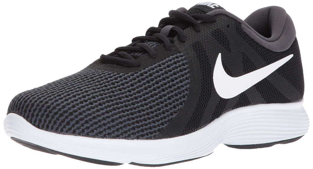 Nike Men's Revolution 4 Running Shoe, Black/White-Anthracite, 9.5 Wide US - Omigod, Dibs!™