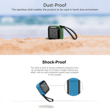 Load image into Gallery viewer, Portable Outdoor and Shower Bluetooth 4.1 Speaker by AYL SoundFit, Water Resistant, Wireless with 10 Hour Rechargeable Battery Life, Powerful Audio Driver, Pairs with All Bluetooth Devices - Omigod, Dibs!™