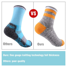 Load image into Gallery viewer, FEIDEER 2-Pack Women's Outdoor Recreation Wicking Cushion Crew Socks